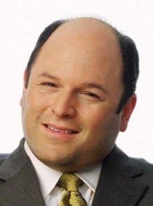 Jason Alexander - classic bald guy.