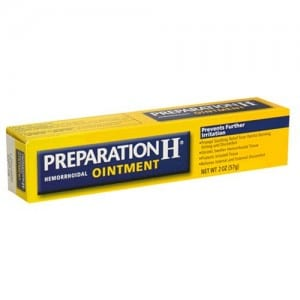 Does Preparation H work?