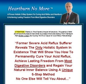 Does Heartburn No More really work?