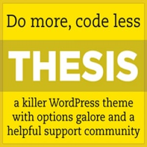Does the Thesis Theme work?