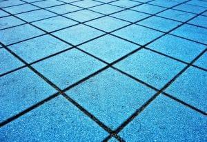 Ceramic floor steam cleaning