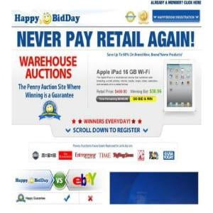 Does Happy BidDay work?