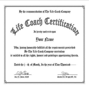 Does Life Coaching Certification work?