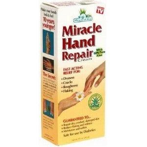 Does Miracle Hand Repair Cream work?