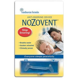 Does Nozovent work?