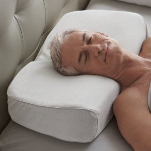 Does the Brookstone Anti Snore Pillow work?