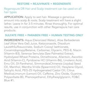 Regenepure DR Ingredients