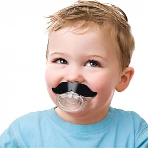 Does the Lil Shaver Mustache Pacifier work?