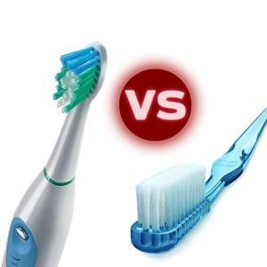 Electric Toothbrush vs. Manual
