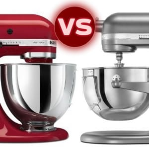 KitchenAid Artisan Stand Mixer vs. Professional 600 Series