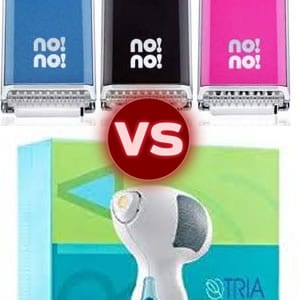 No No Hair Removal vs. Tria Laser