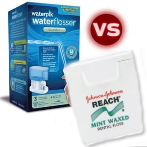 Waterpik vs. Flossing