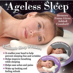 Does the Ageless Sleep Pillow work?
