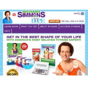 Does Richard Simmons Project Hope work