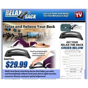 Does Relax the Back really work?
