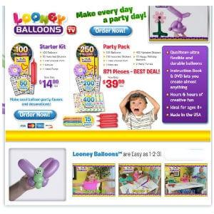 Do Looney Balloons work
