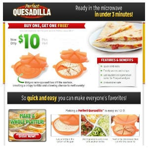 Does the Perfect Quesadilla work