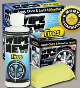 Does Wipe New Tires Work?
