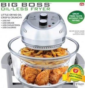 Does the Big Boss 1300 Watt Oil Less Fryer Work?