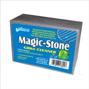 Does the Compac's Magic Stone Grill Cleaner Scrub Work?