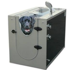 Does the Hammacher Schlemmer Canine Shower Stall Work?
