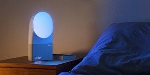 Does the Aura Alarm Clock Sleep Light Work?