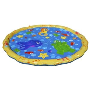 Does the Banzai 54in-Diameter Sprinkle and Splash Play Mat Work?
