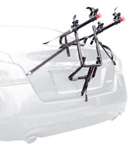 Does the Allen Sports 2 Bike Trunk Mount Rack Work?