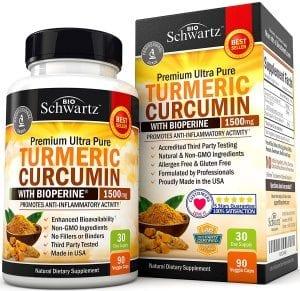 Does Bio Schwartz Turmeric Curcumin Work?