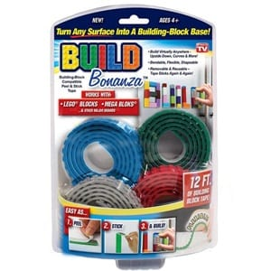 Does the BUILD BONANZA BUILDING BLOCK TAPE Work?