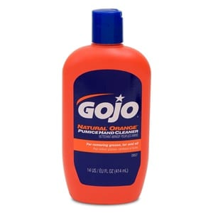 Does the Gojo Natural Orange Pumice Hand Cleaner Work?