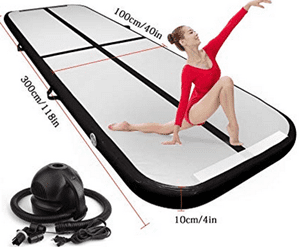 Does the Air Track Tumbling Mat Work?