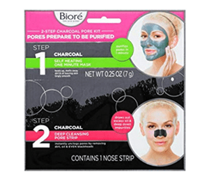 Does the Biore 2 Step Charcoal Pore Kit Work?