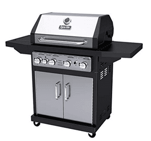 Does the Dyna Glo 4 Burner Propane Gas Grill Work?